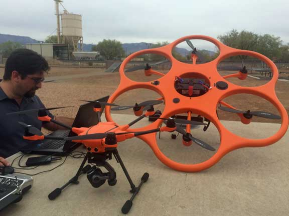 drones UAS 3D modeling photogrammetry pepperball FN303 trajectory reconstruction forensics less lethal 40mm