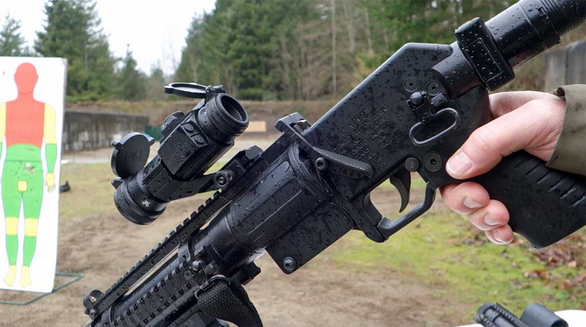 less lethal 40mm forensics testing